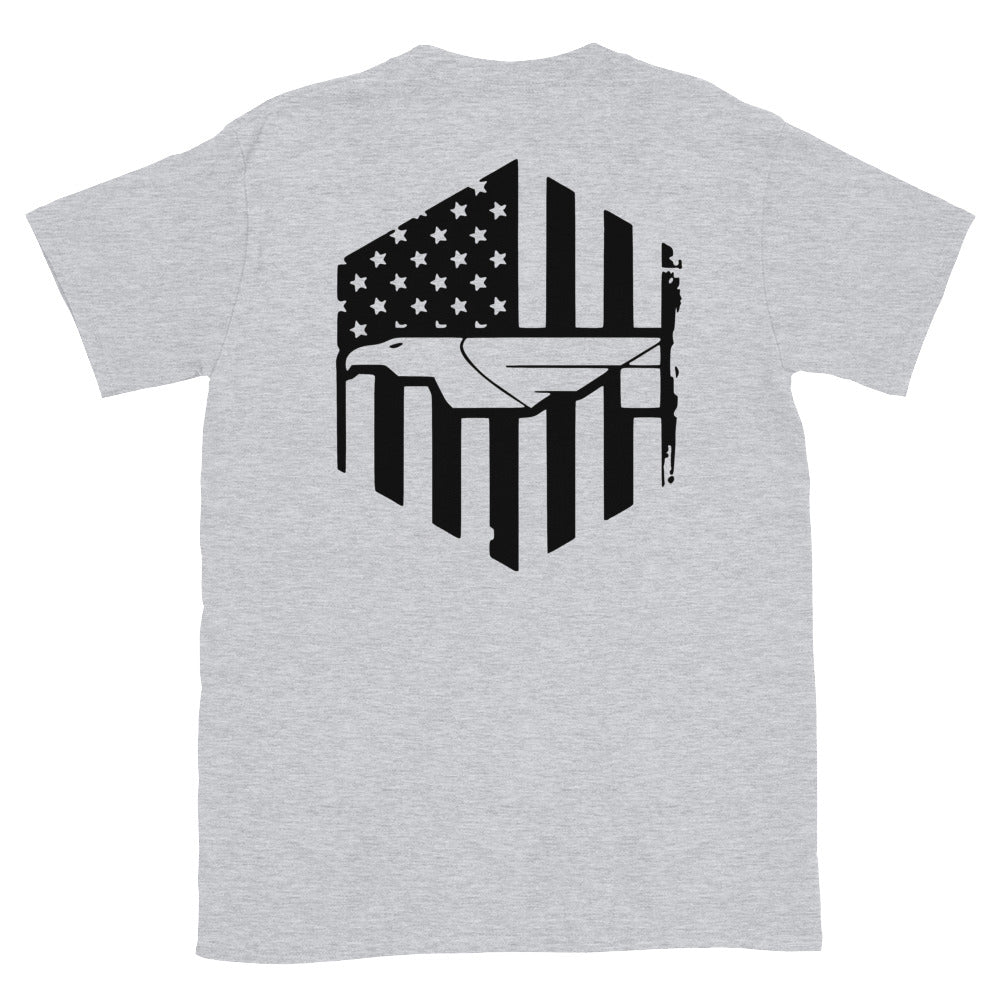 Fi Eagle Flag T-Shirt (S-3X)