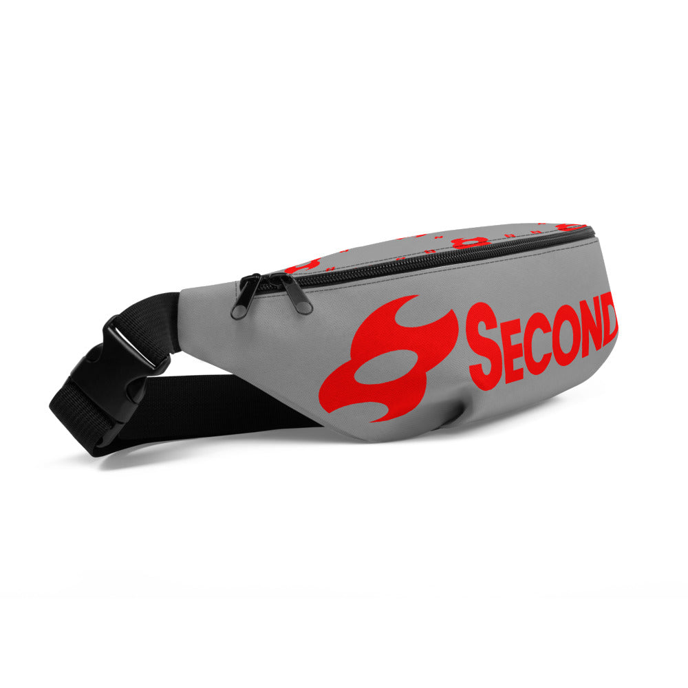 Second Skin Fanny Pack (Grey/Red)