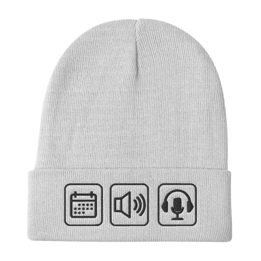 Everyday Audios Embroidered Beanie