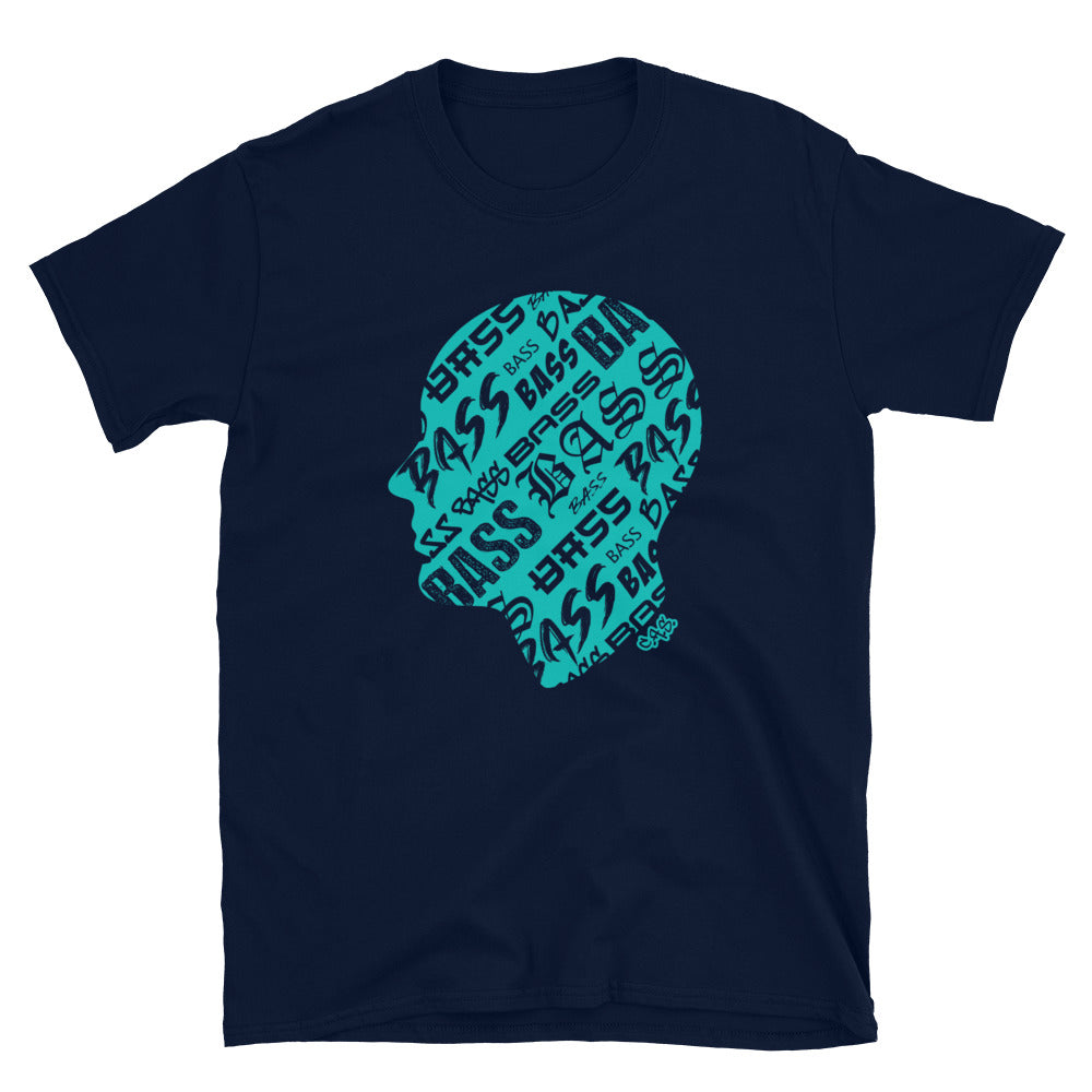 Car Audio Swag Bass Head Tee (Tiffany)