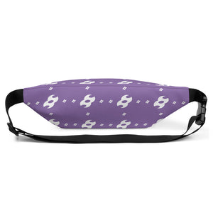 Second Skin Fanny Pack (Purple/White)
