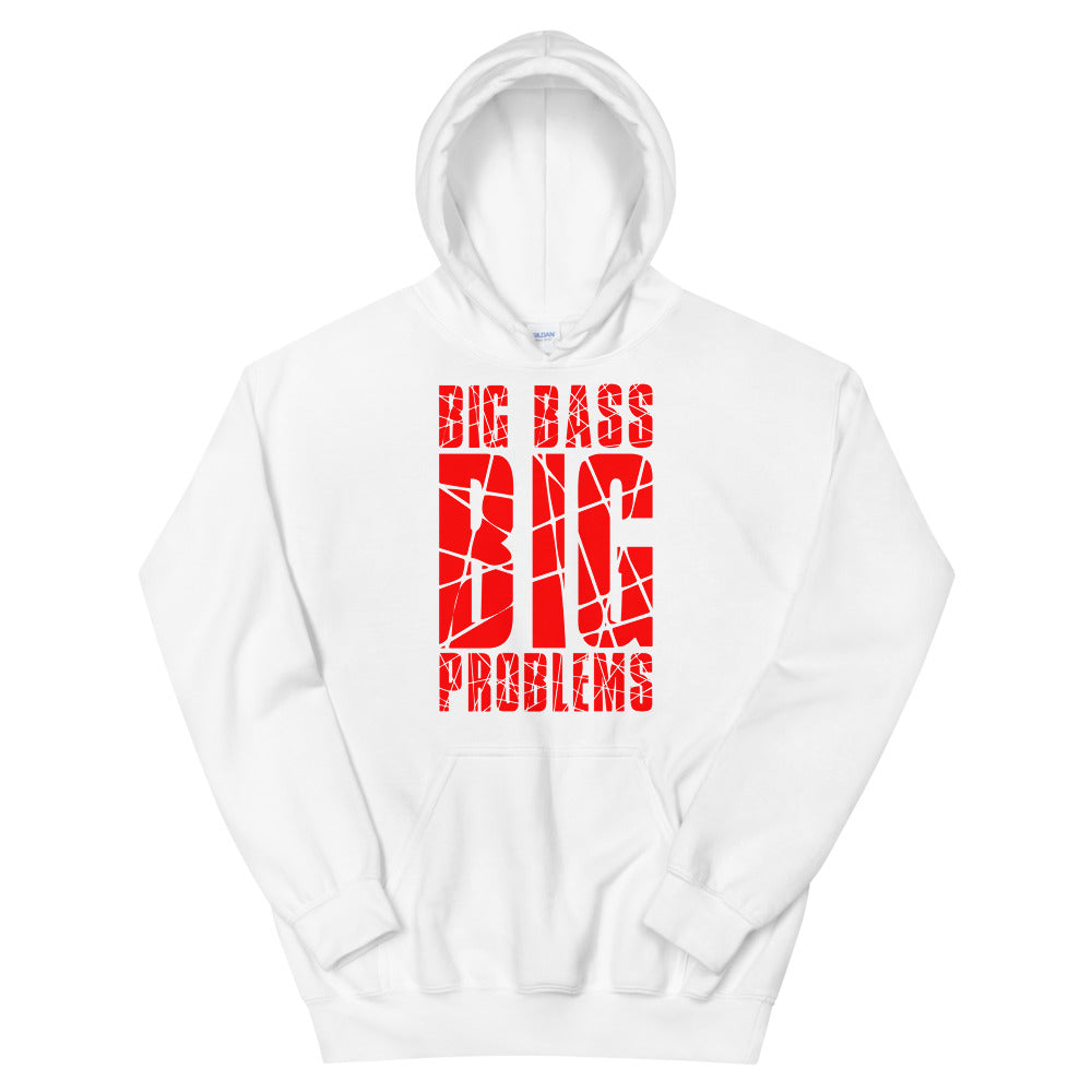 Big Bass Big Problems Hoodie (Red)