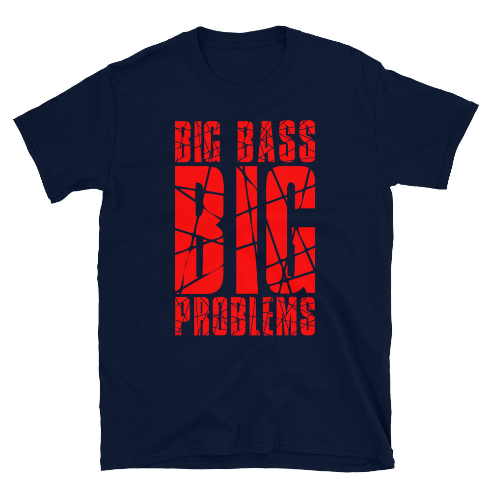 Big Bass Big Problems Tee (Red)