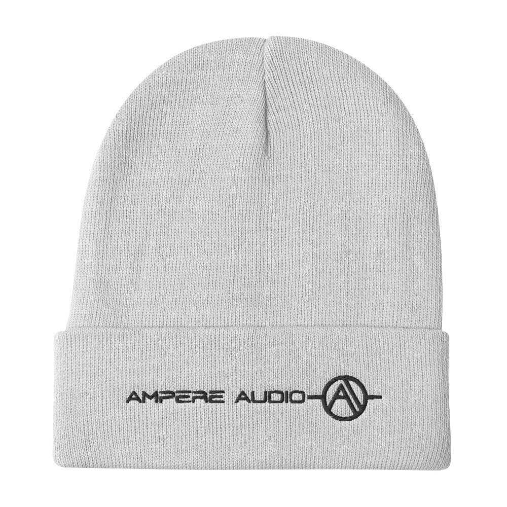Ampere Audio Embroidered Beanie