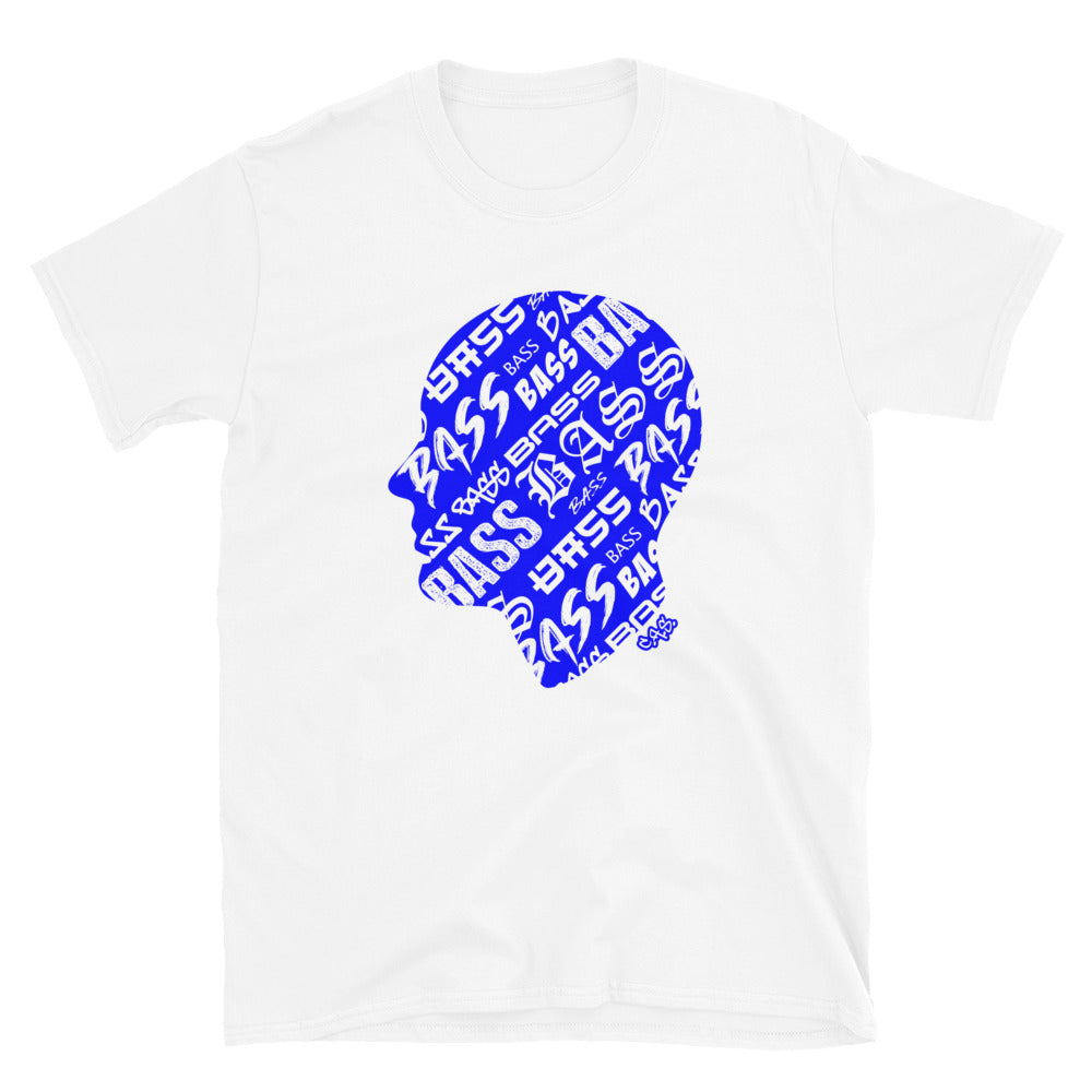 Car Audio Swag Bass Head Tee (Blue)