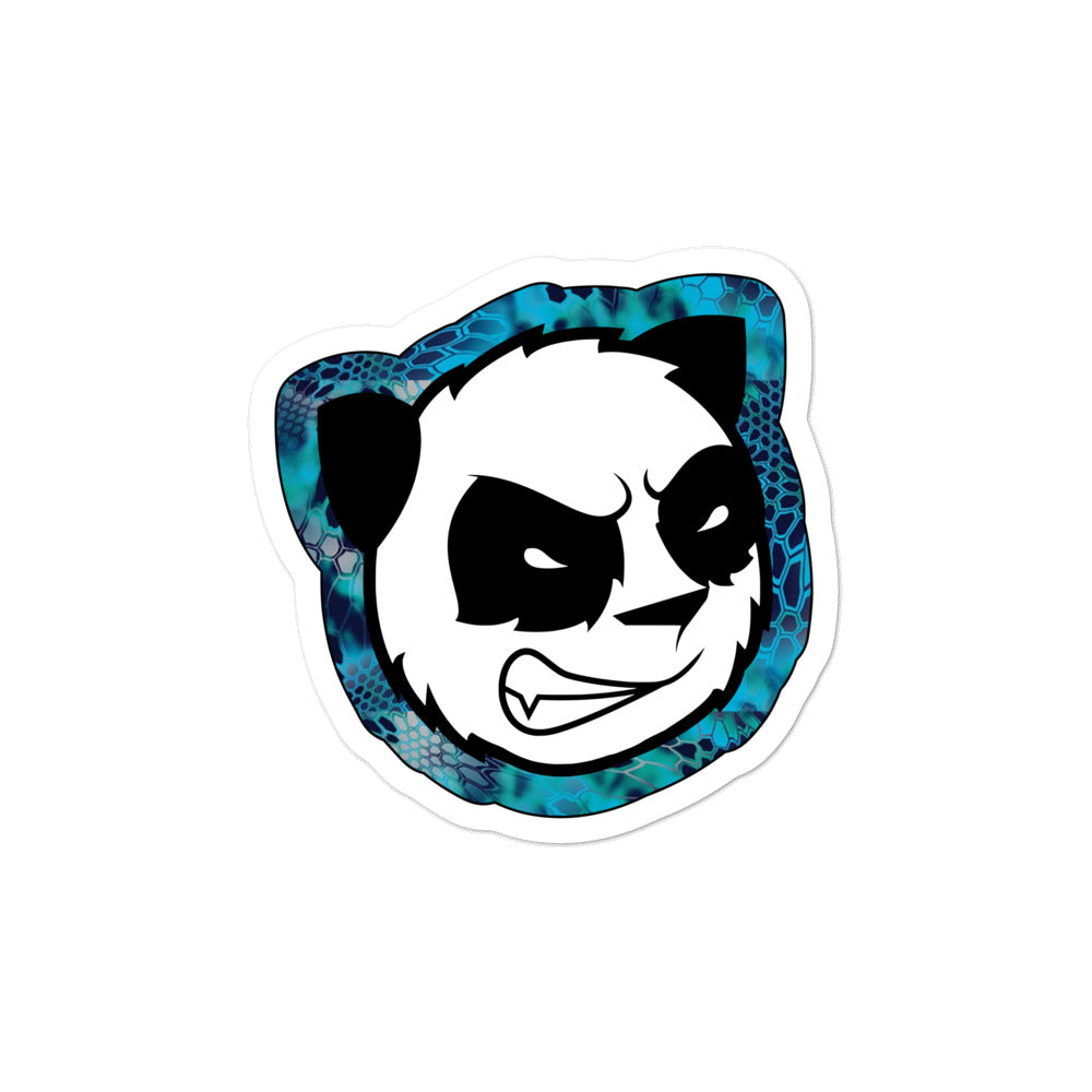 Kryptic Angry Panda Die Cut Decals