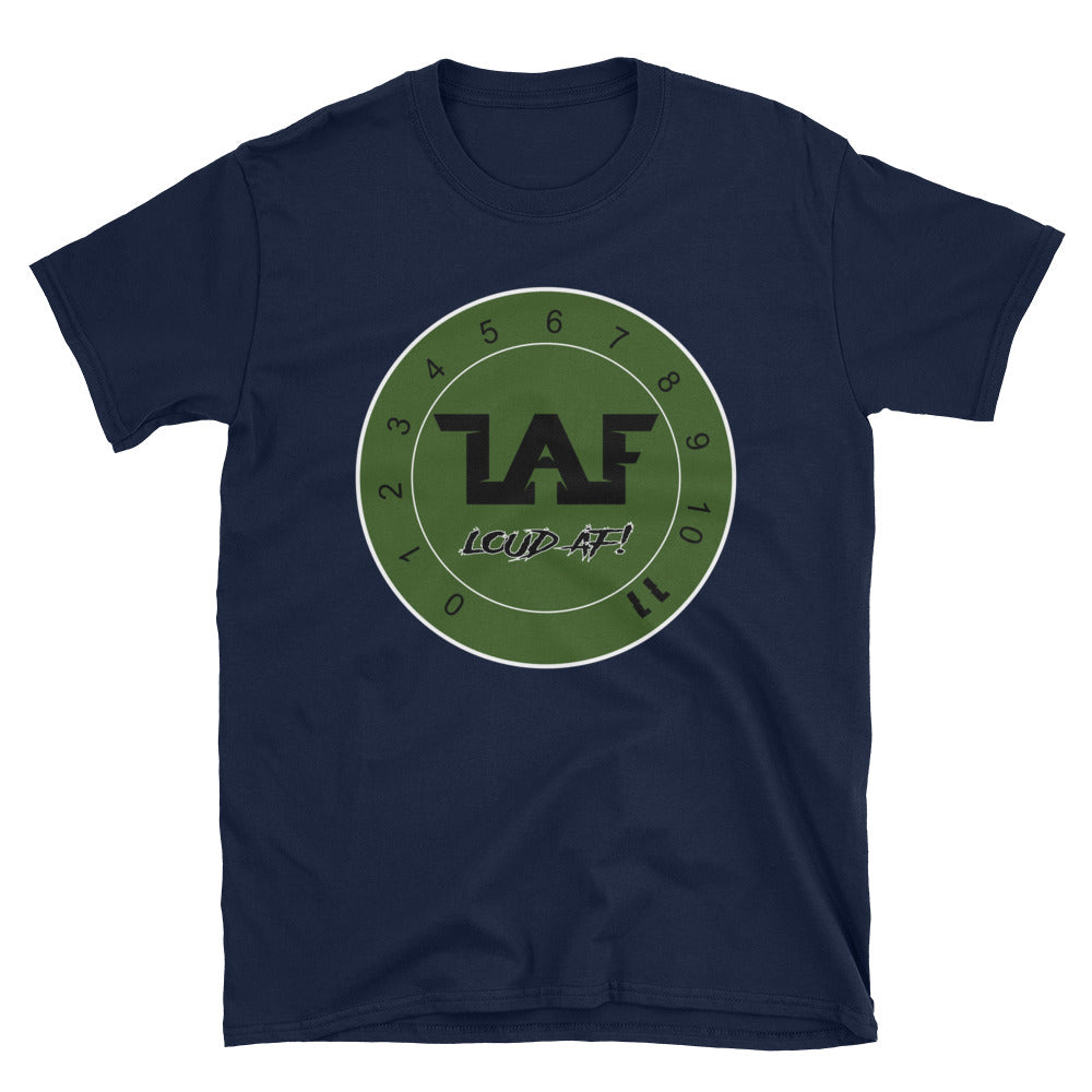 LAF - Lange Audio Fabrication Loud AF Green Logo T-Shirt