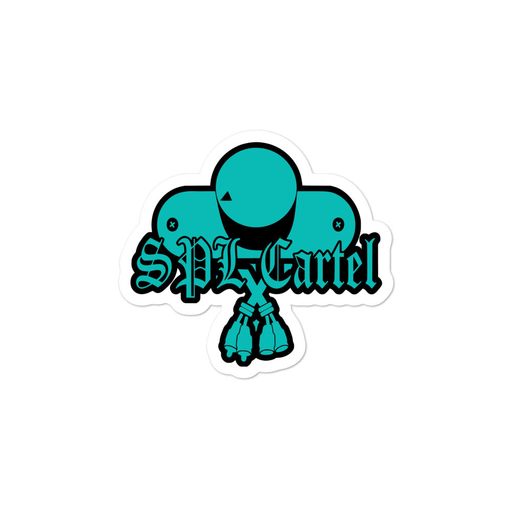 SPL Cartel Die Cut Classic Decals (Tiffany)