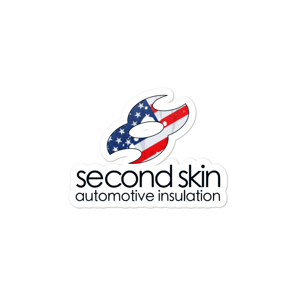 Second Skin Merica Bubble-free stickers