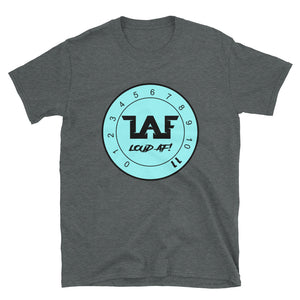 LAF - Lange Audio Fabrication Loud AF Tiffany Logo T-Shirt