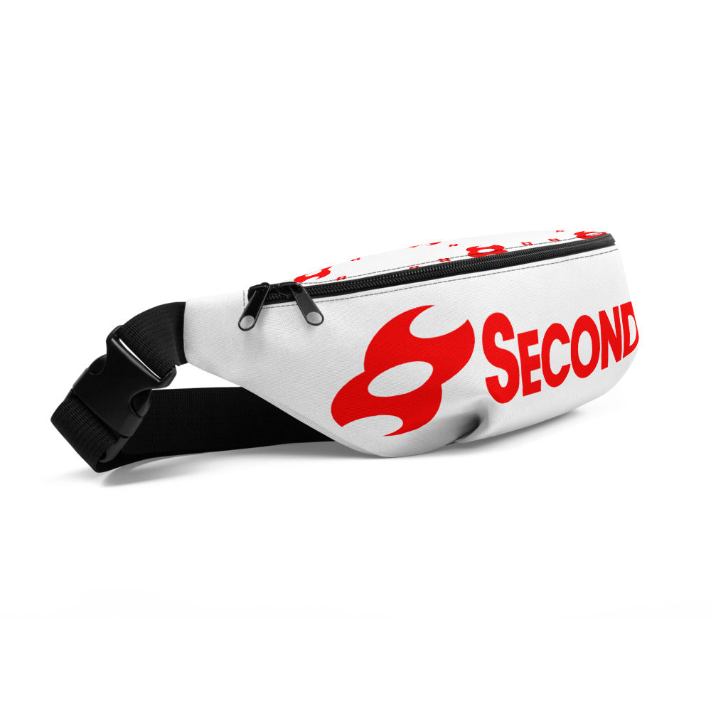 Second Skin Fanny Pack (White/Red)