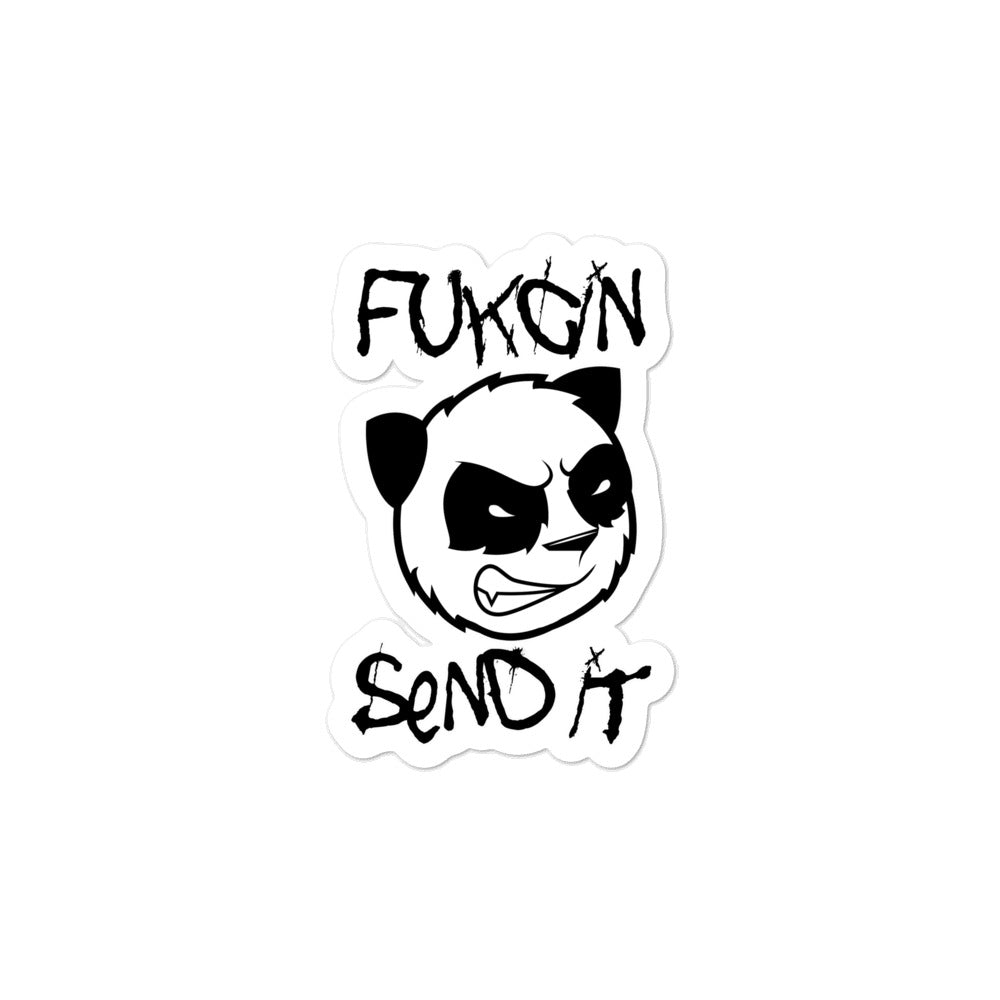 Fukcin Send It Die Cut Decals