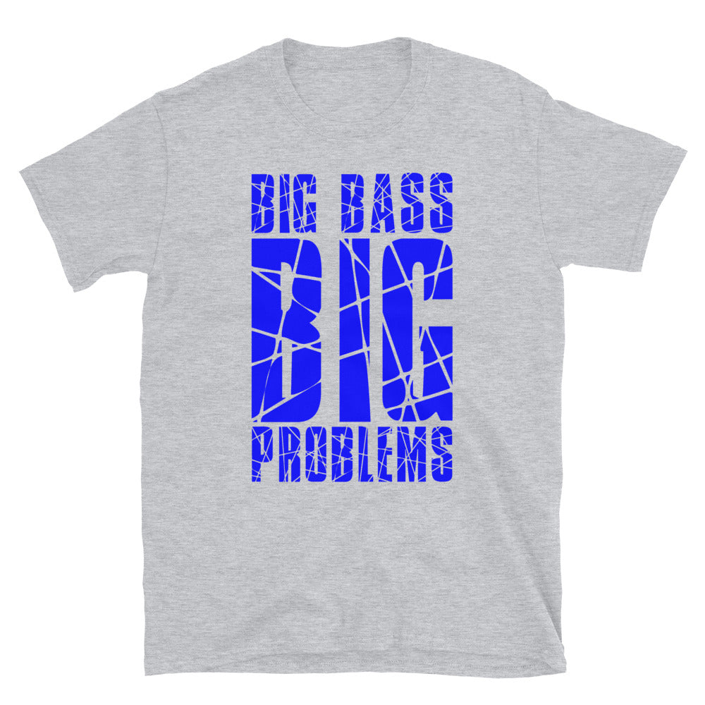 Big Bass Big Problems Tee (Blue)