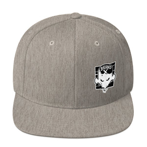 Brand X Face Snapback Hat