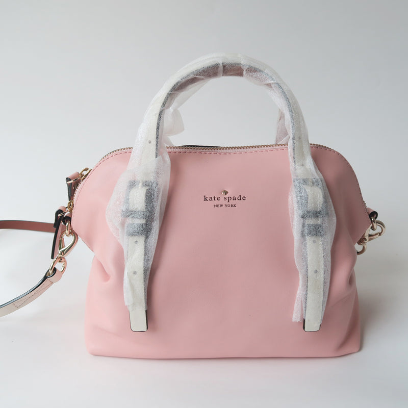 Kate Spade New York Pastel Pink Champagne WAVERLY STREET DREW Satchel Bag