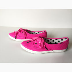Kate Spade New York by Keds Hot Pink Pointer Sneaker Shoes Size 6