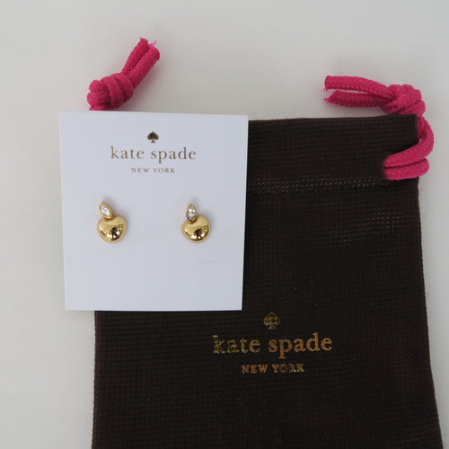 Kate Spade New York - APPLE OF MY EYE MINI PENDANT STUD EARRINGS