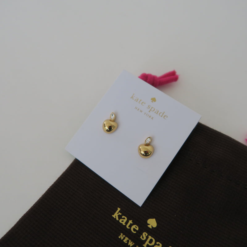[SOLD OUT] - Kate Spade New York - APPLE OF MY EYE MINI PENDANT STUD EARRINGS