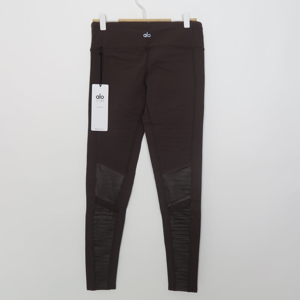 [SOLD OUT] - ALO yoga Moto Legging Mink/Mink Glossy