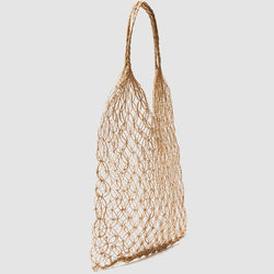 Abaca Mini Eco Loop handed weaving Natural Shopping Market Tote Bag