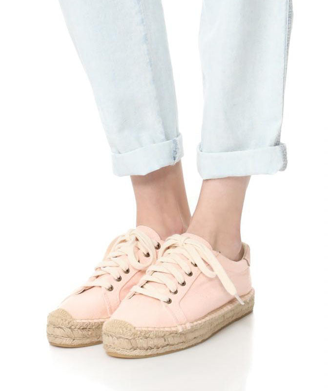 SOLUDOS BLUSH (Soft Rose) Espadrille Sneakers