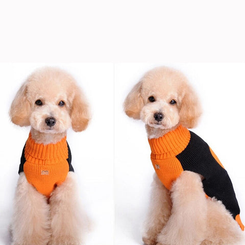 Halloween Dog Sweater Comfortable Pet Clothes Festival Vest Knitwear