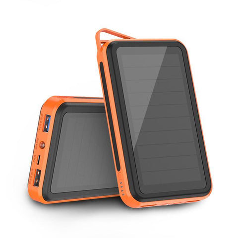 15000mAh Solar PowerBank Portable Phone Chagrer External Battery for iPhone