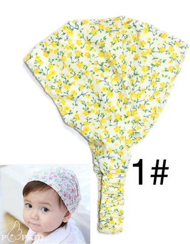 Summer Autumn Baby Hat Girl Boy Cap Children Toddler Kids Scarf