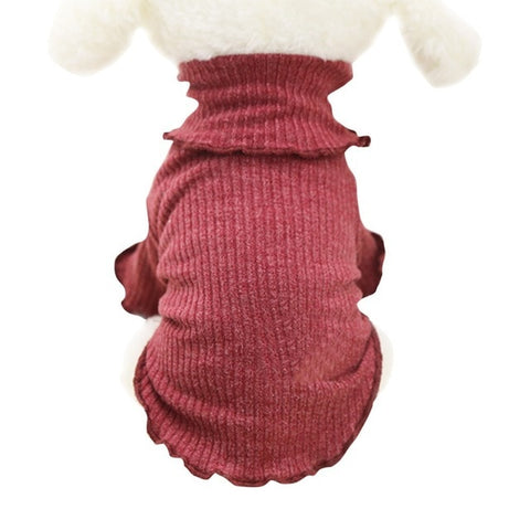 Dog Sweaters Supplies Clothes Bottoming Shirt Pet  Autumn And Winter Models