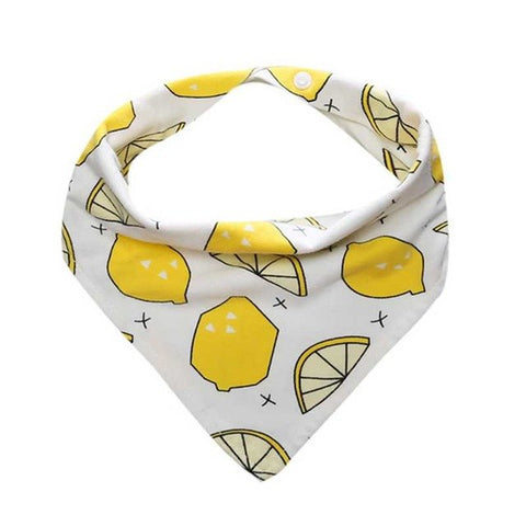 Baby Kids Cotton Bandana Bibs Feeding Saliva Towel Dribble Waterproof Triangle Scarf