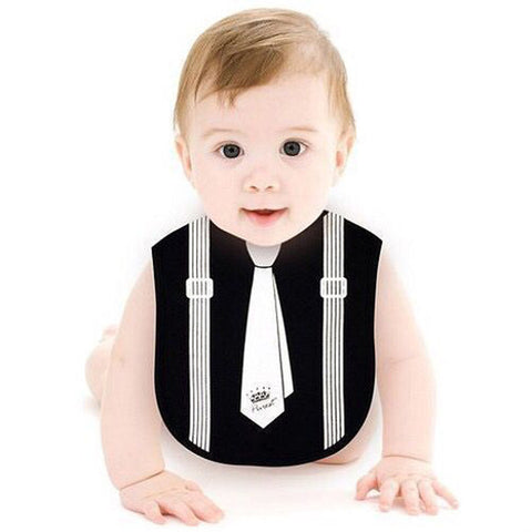 Children Baby Newborn Waterproof  Print Cotton Bib