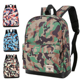Children Baby Boys Girls Camouflage Pattern Print Backpack Toddler