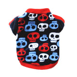 6 Colors Dog Sweater Soft Warm Winter Print Pet Dog Costume Goods