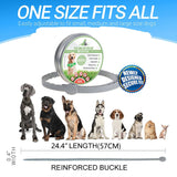 Dogs Cats Up To 8 Month Flea And Tick Collar long pet supplies