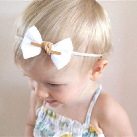 3PCS/ Set Children Hair Accessories Baby Bows Hairbands Girls Floral Headbands