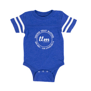 Football Onesie - Royal Blue