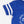 Load image into Gallery viewer, Football Onesie - Royal Blue