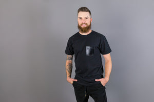 Men's Pocket Tee - Black