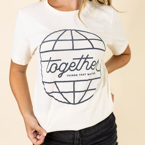 TOGETHER Tee - Natural
