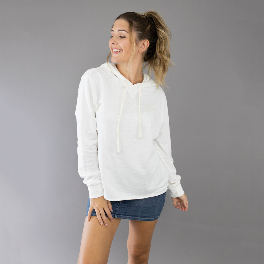 Day Off French Terry Hoodie - Ivory