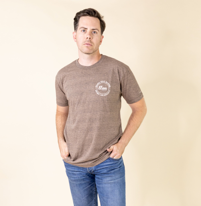 Mini Logo Tee - Coffee