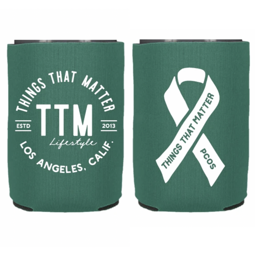 PCOS Awareness Koozie