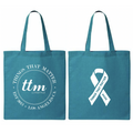 PCOS Awareness Canvas Tote