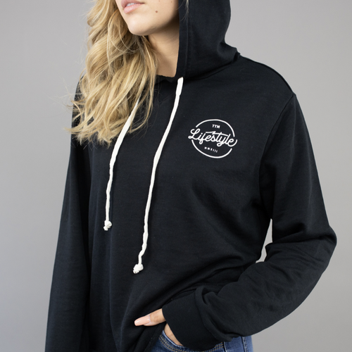 Day Off French Terry Hoodie - Black