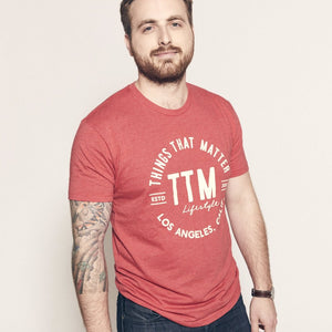 Bold Logo Tee - Red