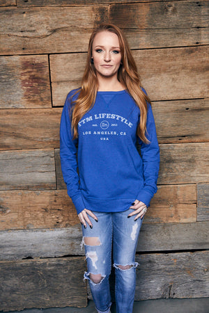 Reversible Scrimmage Sweatshirt - Royal Blue
