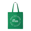 Kelly Green Canvas Tote