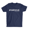 #TeamTaylor Logo Tee - Midnight Navy