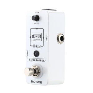 Mooer Micro looper Mini Loop recording Effect Pedal for Electric Guitar True Bypass