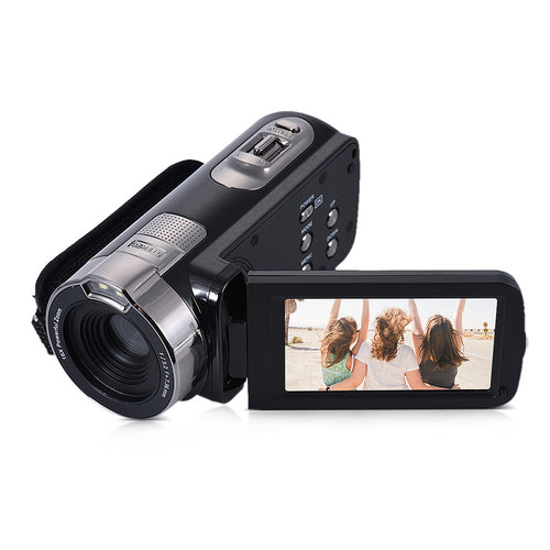 HDV-302P 3.0 Inch LCD Screen Full HD 1080P 15FPS 24MP 16X Digital Zoom Anti-shake Digital Video DV Camera Camcorder